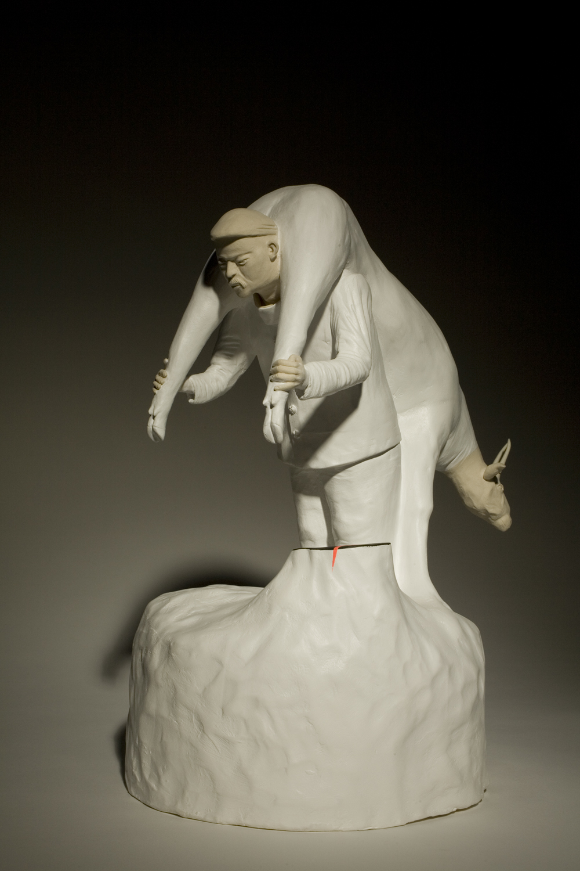 Geschenk 2010 H: 35 cm
