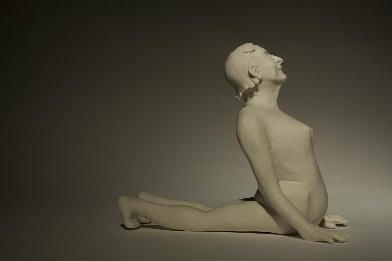 junge alte Frau2010H: 12,5 cm