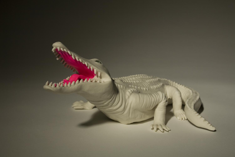 Krokodil 2011 H: 13 cm