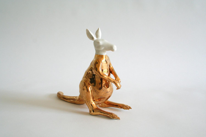 Känguru 2007 H: 10 cm sold