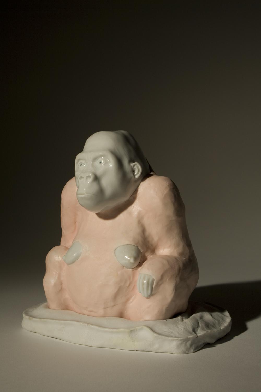 Gorilla III 2009 H: 15 cm sold