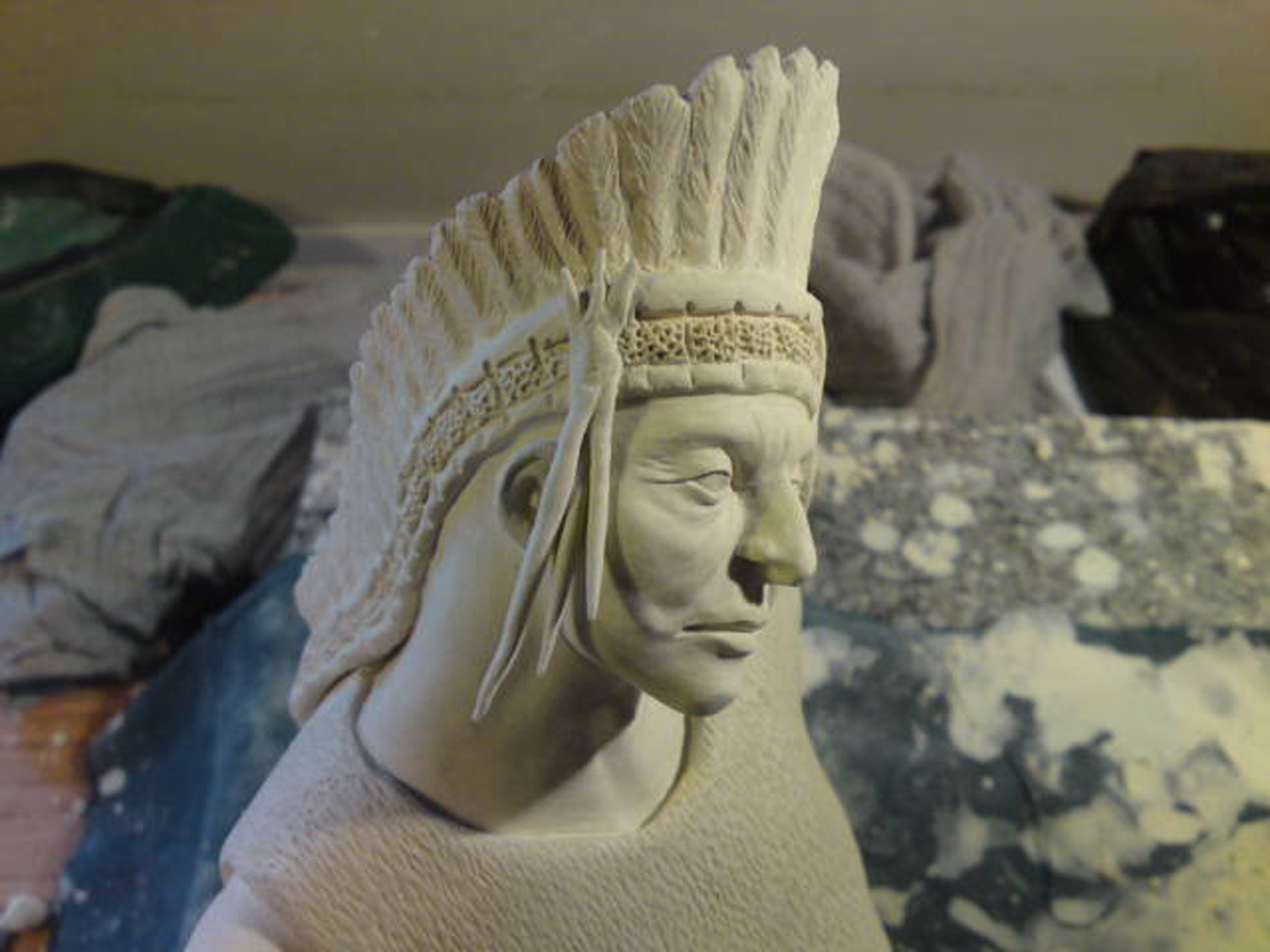 Work in Progress Indianer