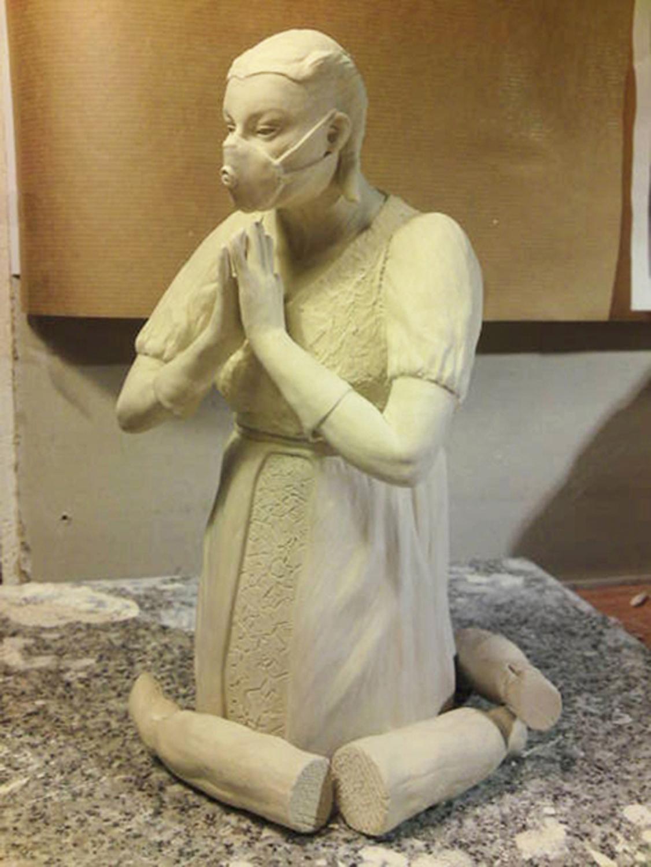 Work in Progress o.T. (Maske)