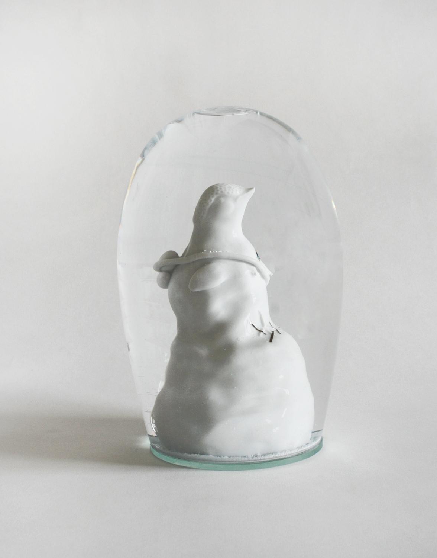 Vogel  2007  H: 15 cm  sold