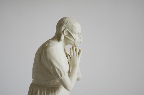O.T. (Maske) 2014 H: 23 cm